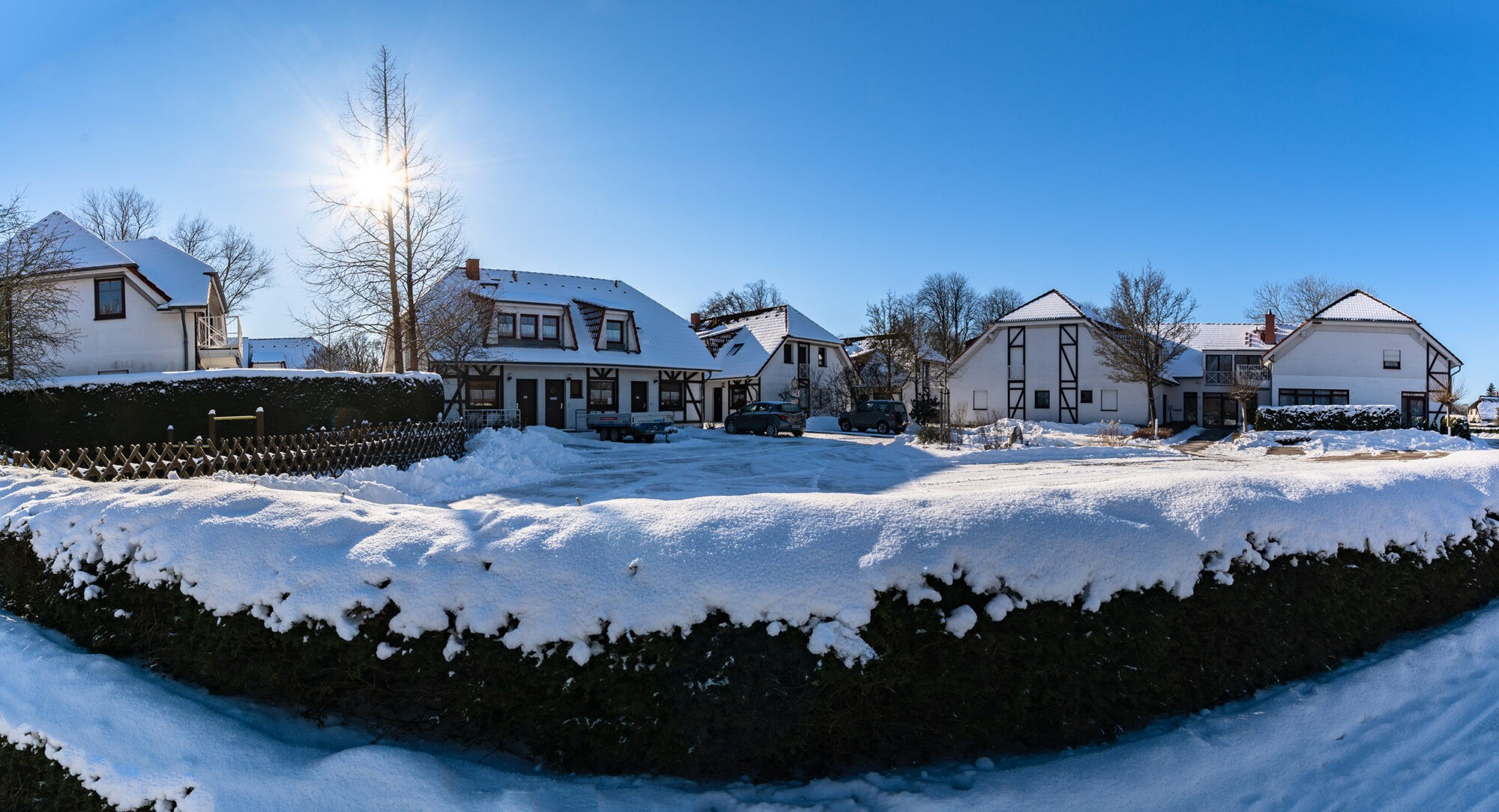 Fotoshooting - Außenaufnahmen Winter